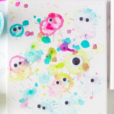 Bubble Paint Monsters