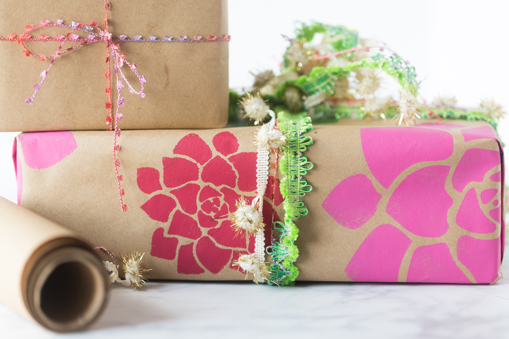 Diy Wrapping Paper Made To Be A Momma