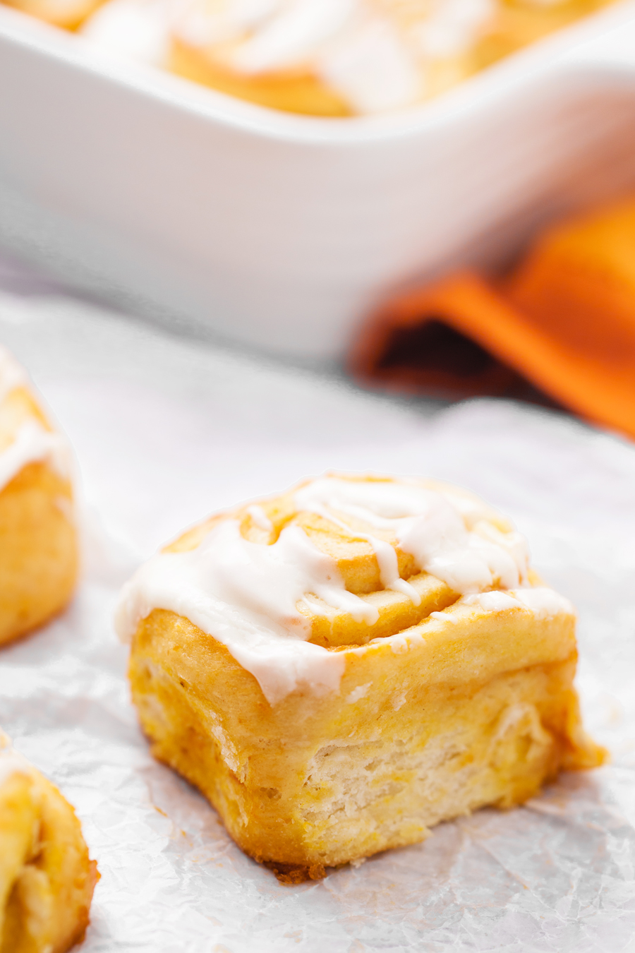 Pumpkin Cinnamon Roll Recipe - Made To Be A Momma
