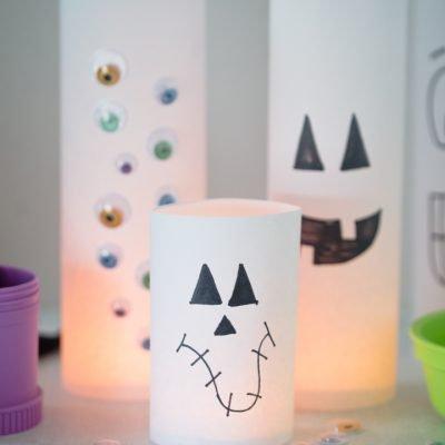 Kid Friendly Halloween Luminaries