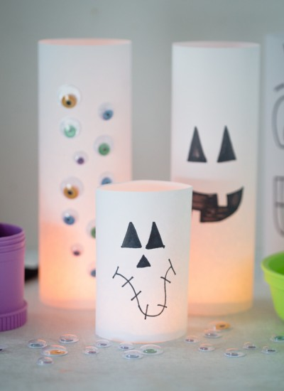Kid Friendly Halloween Luminaries
