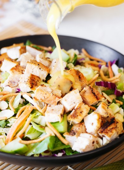 Easy Oriental Chicken Salad