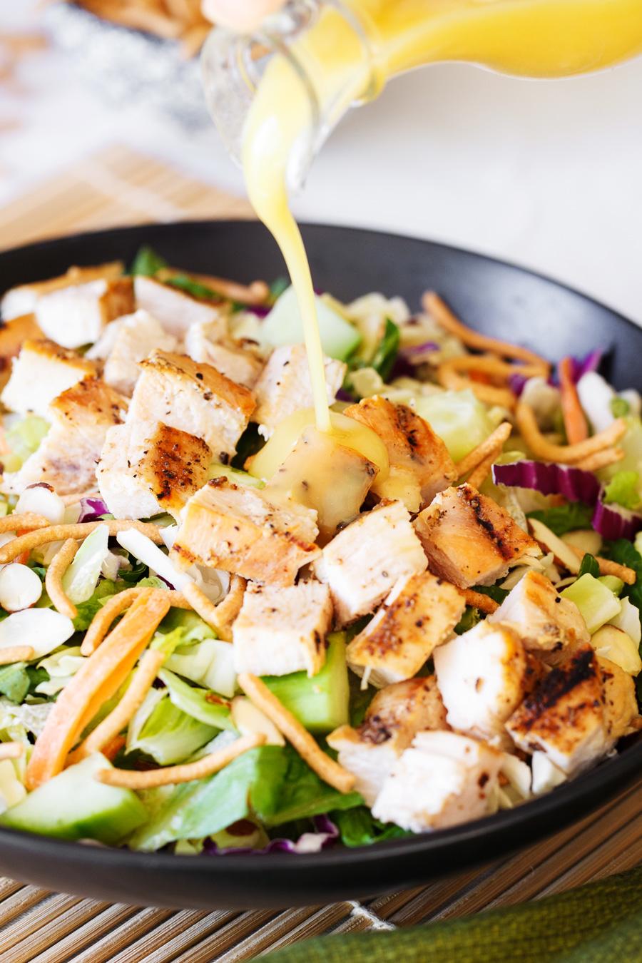 Easy Oriental Chicken Salad Dressing