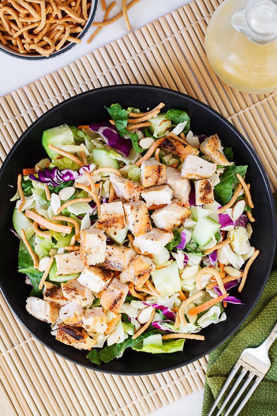 Oriental Chicken Salad Ingredients