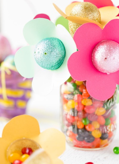 Easter Egg Candy Flowers