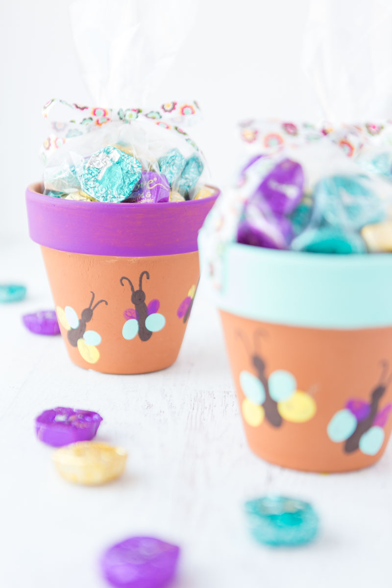 Flower Pot Mothers Day Idea
