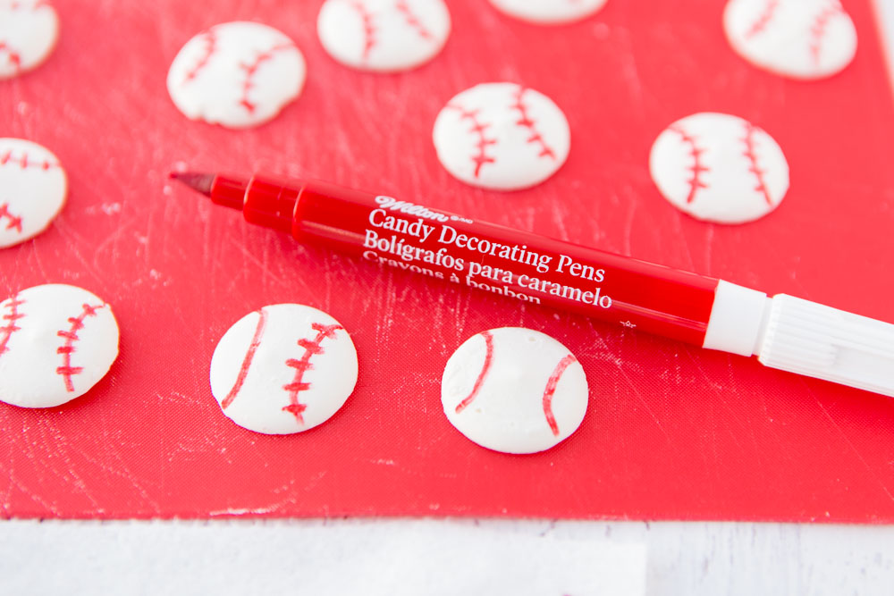 Red Candy Decorating Pens