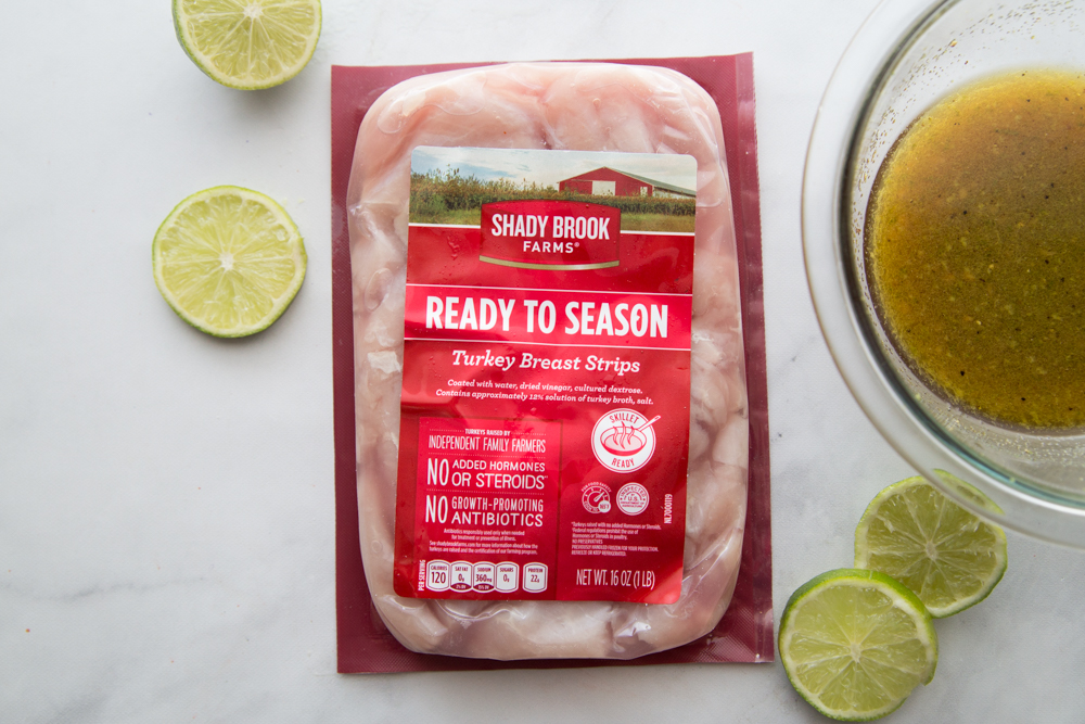 Turkey Breast Strip Marinade