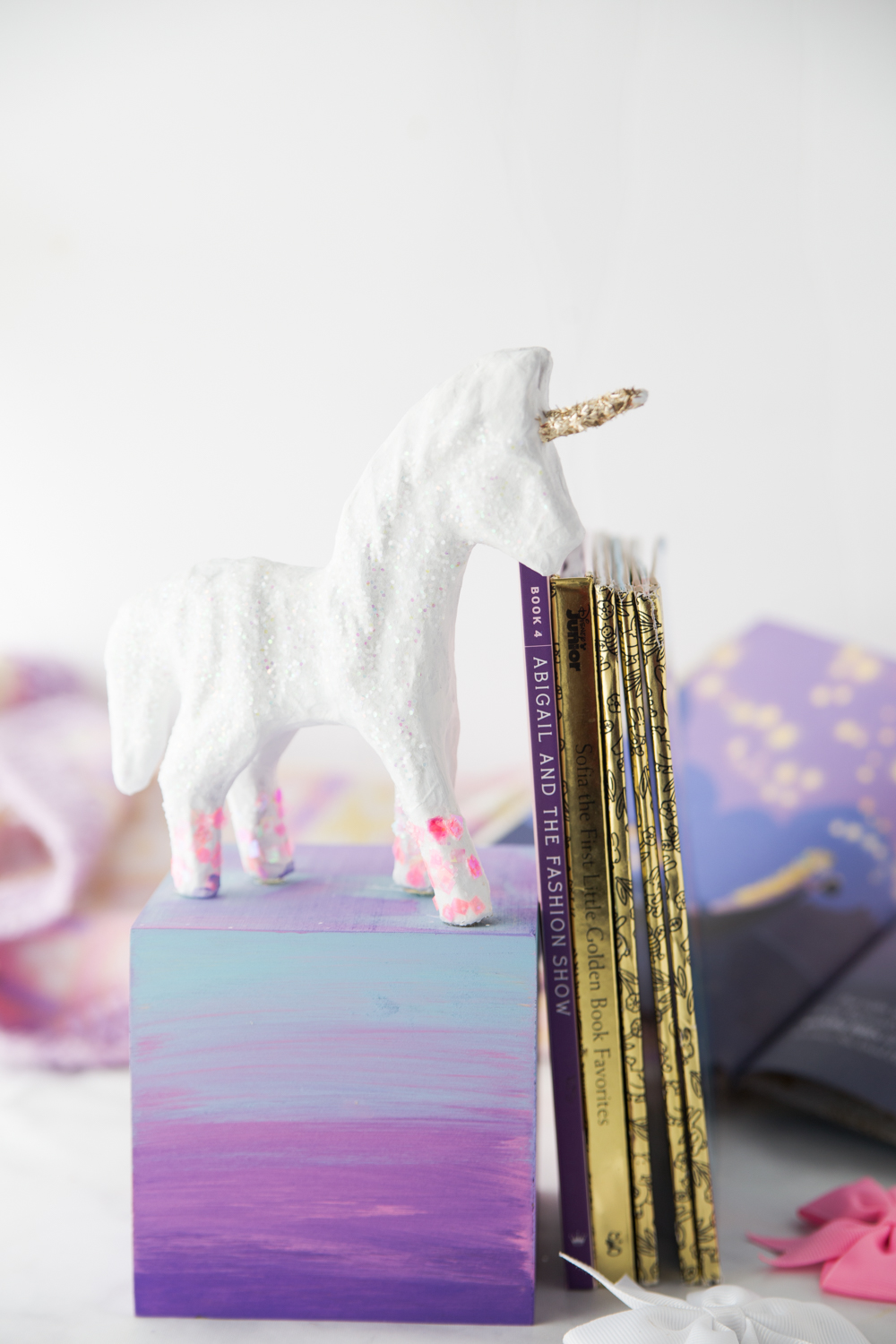 Diy Unicorn Bookend