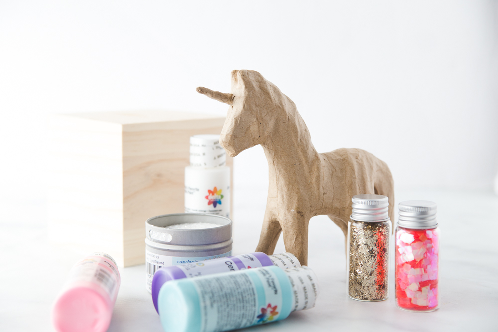 Unicorn Bookend Supply List