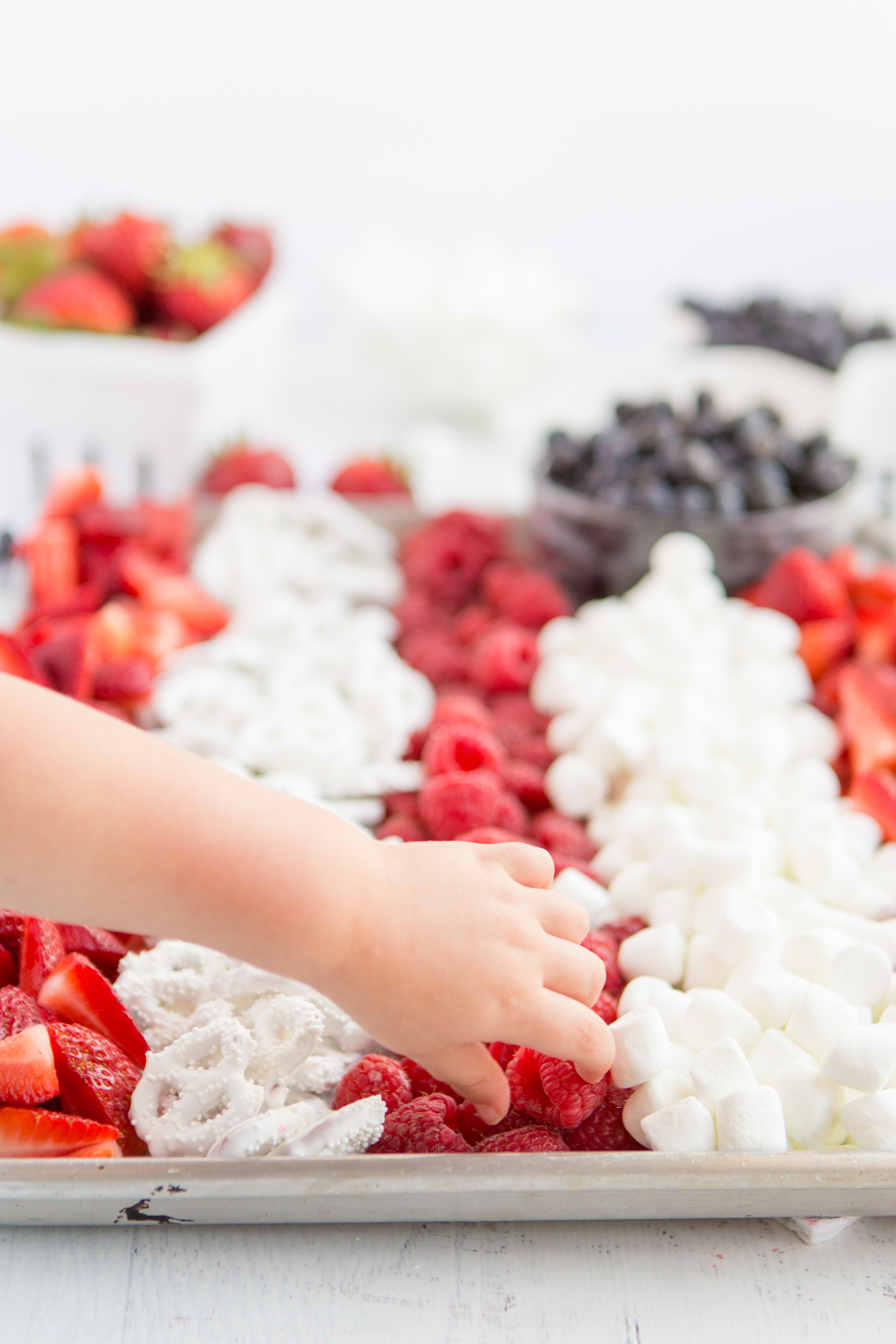 Little Hands love berries
