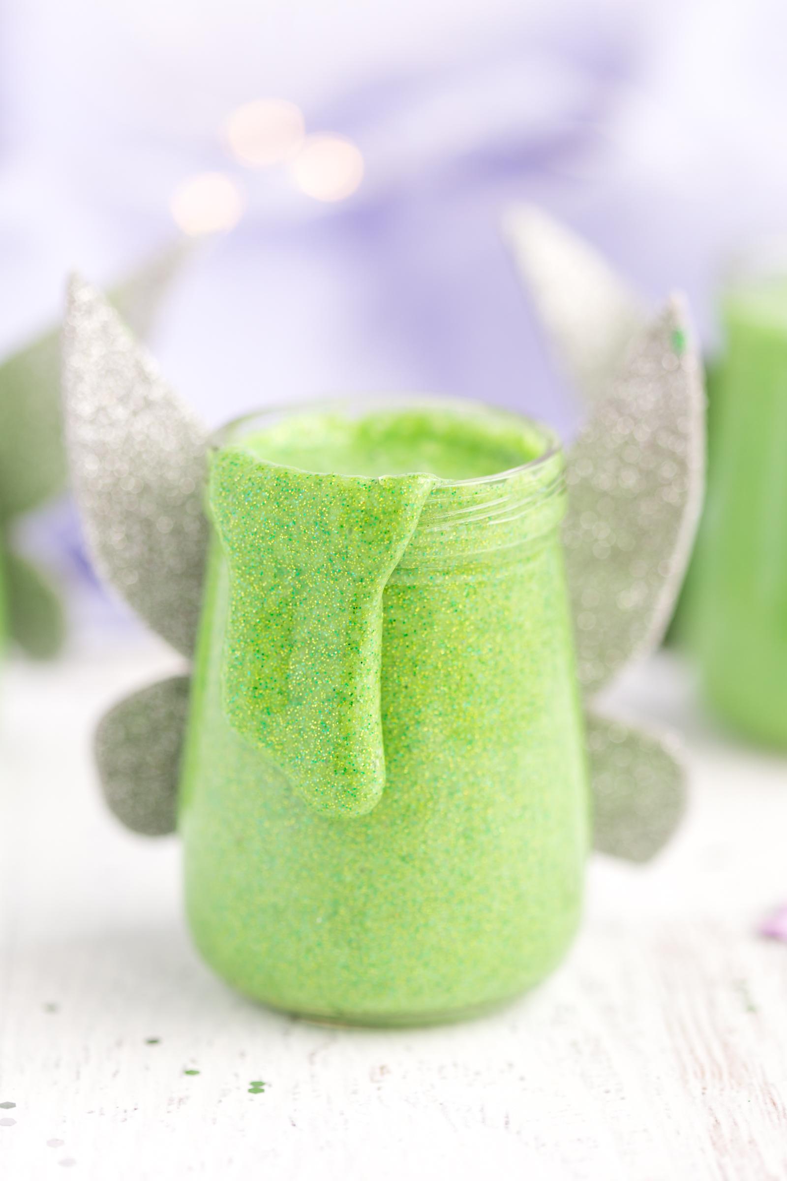 Tinker Bell Glitter Slime