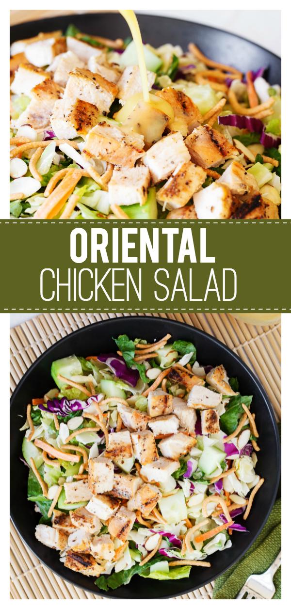 Easy Oriental Chicken Salad