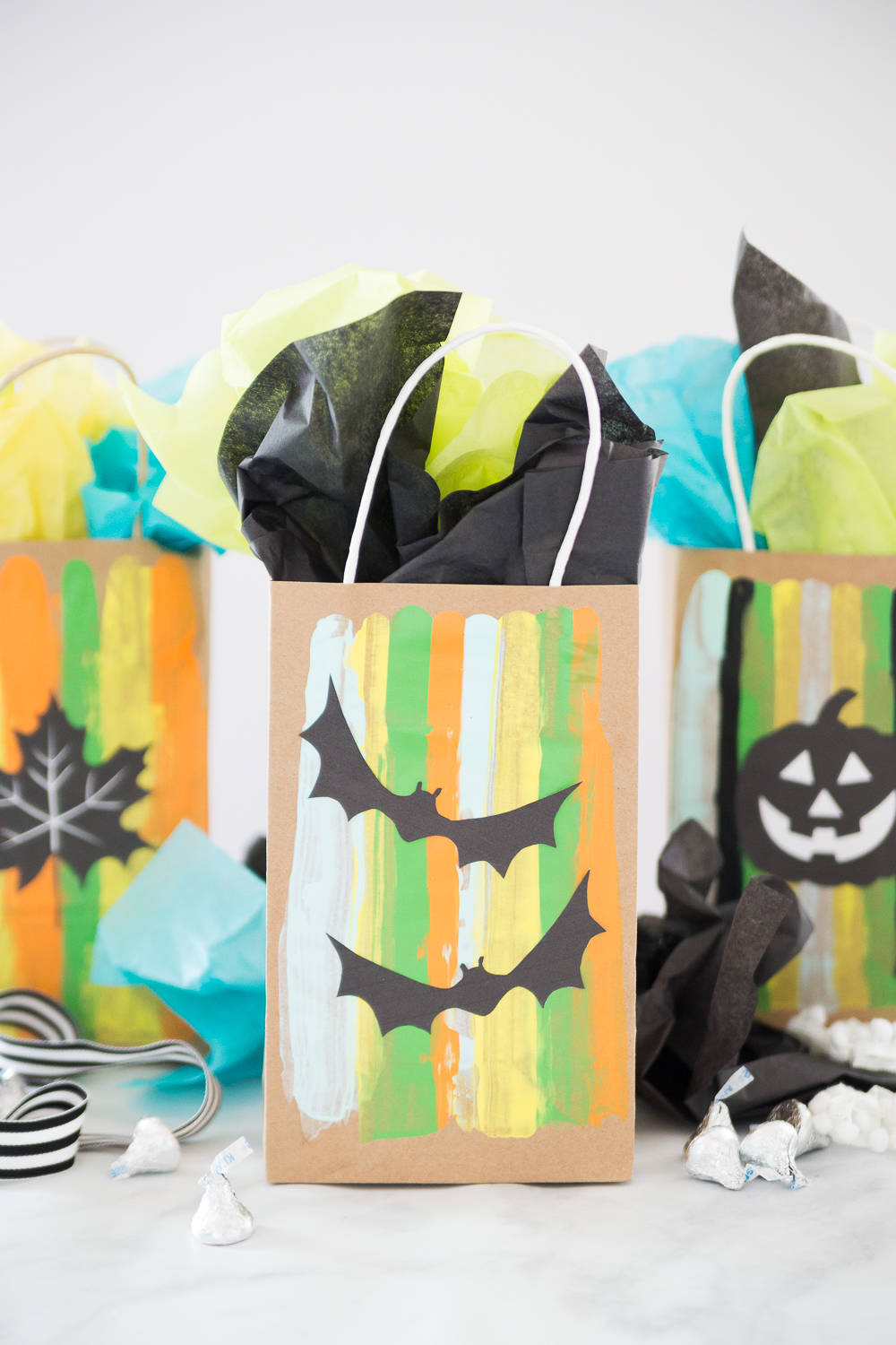 halloween trick or treat gift bags - made to be a momma