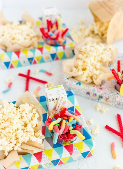 Easy Movie Night Box Craft