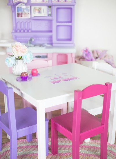 Princess Castle Toddler Desk