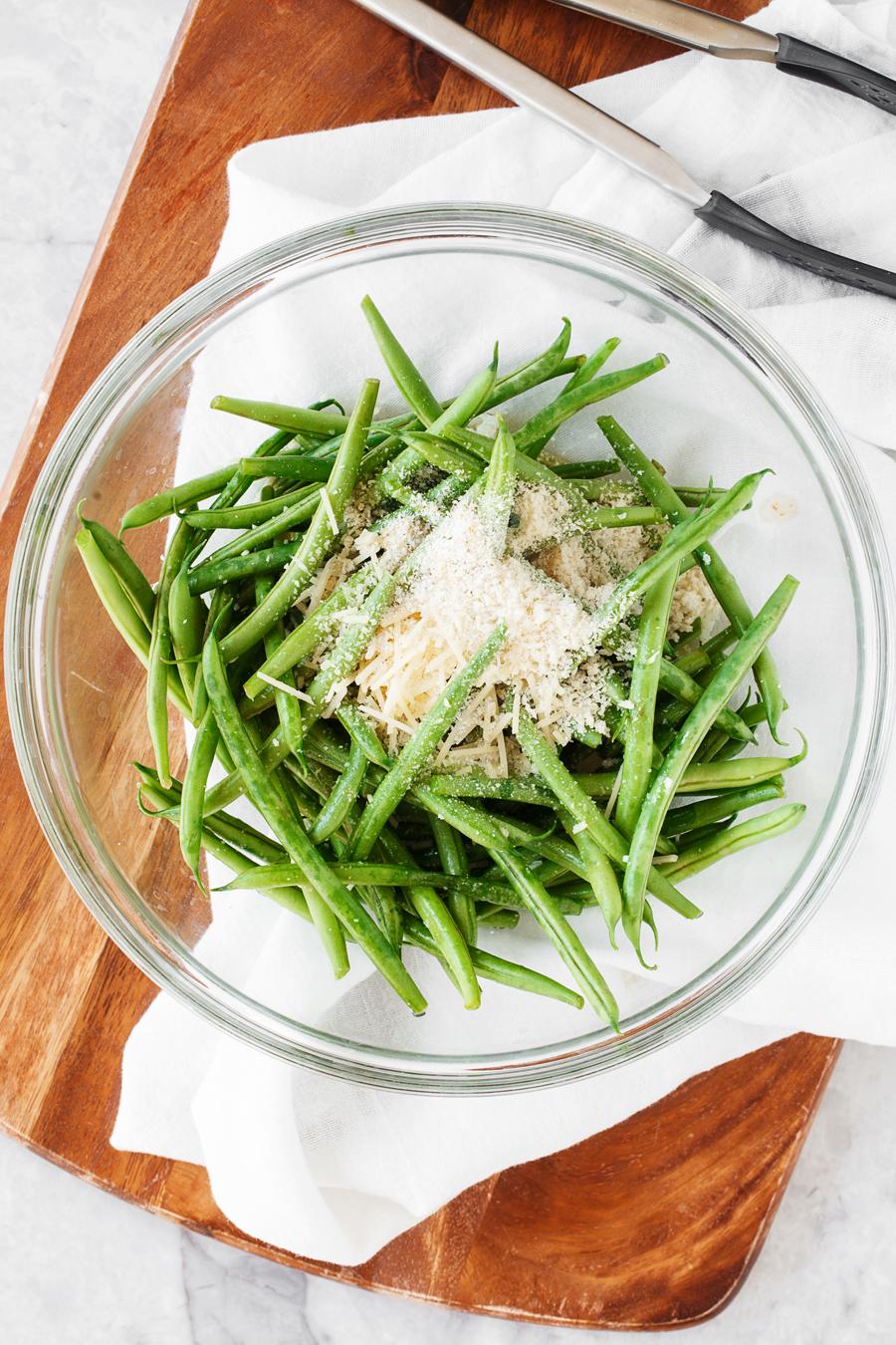 Roasted Green Bean Ingredients