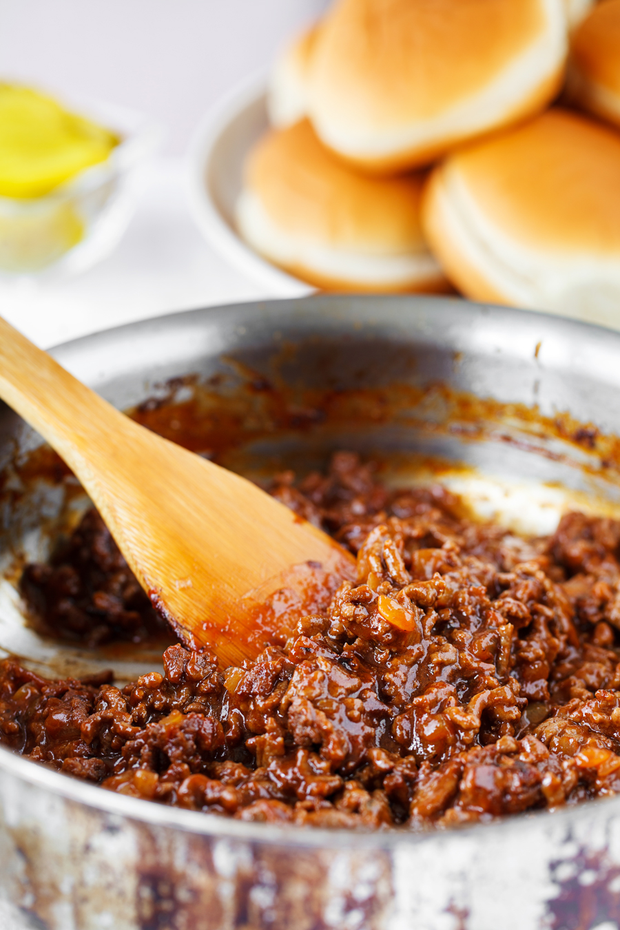 Stovetop Sloppy Joe Meat Mixture