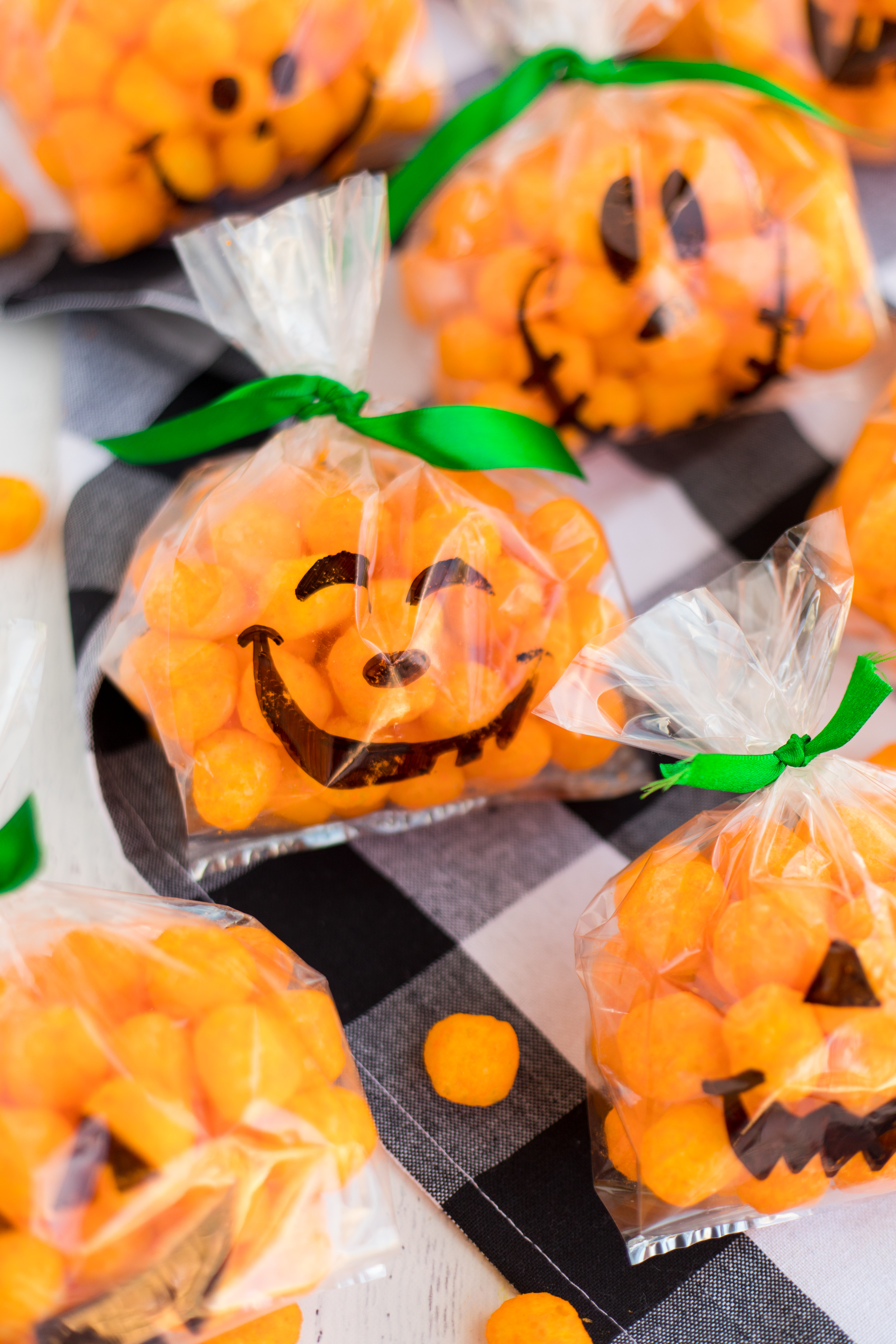Jack O Lantern Treat Bags Made To Be A Momma