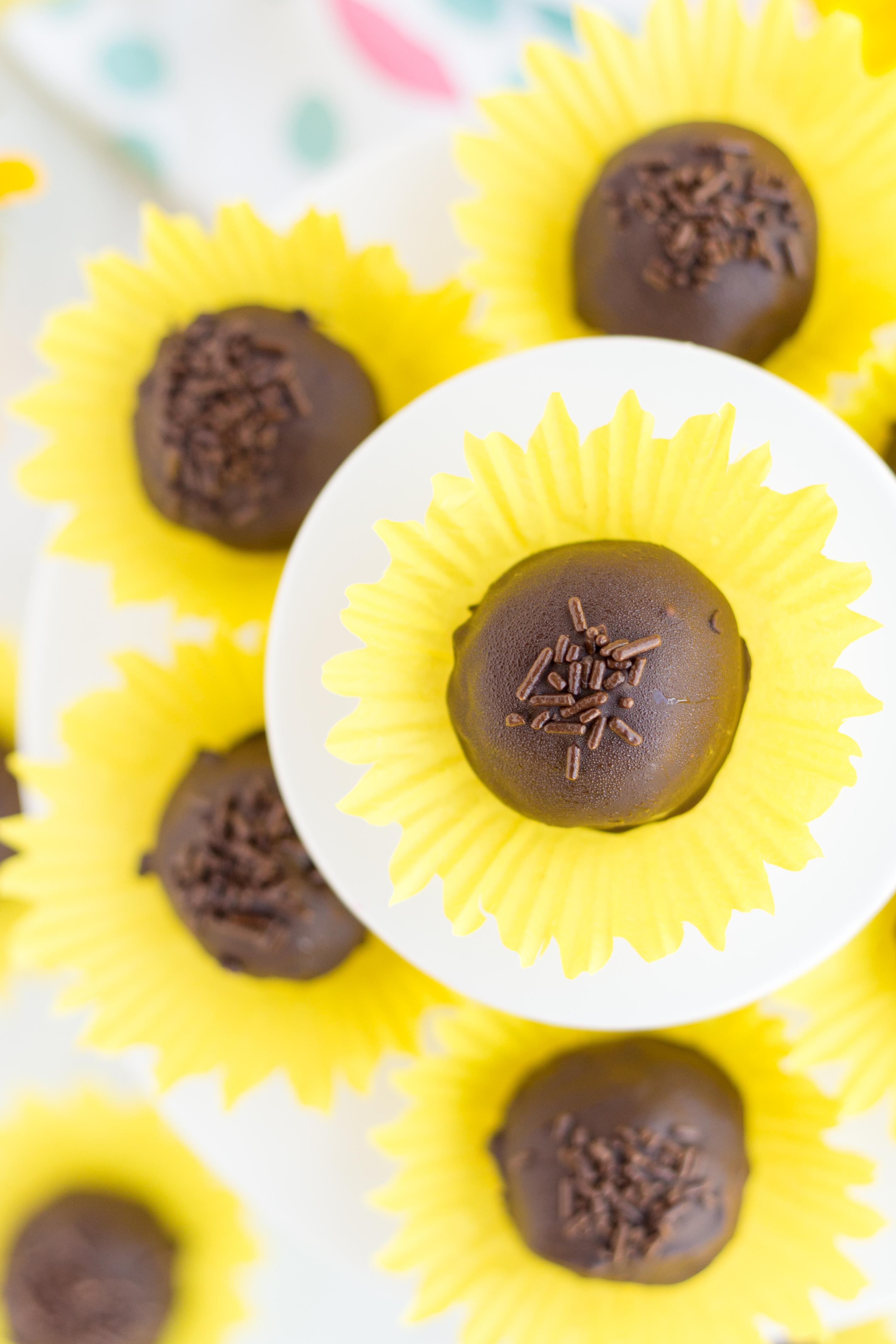Chocolate Bon Bon Truffles