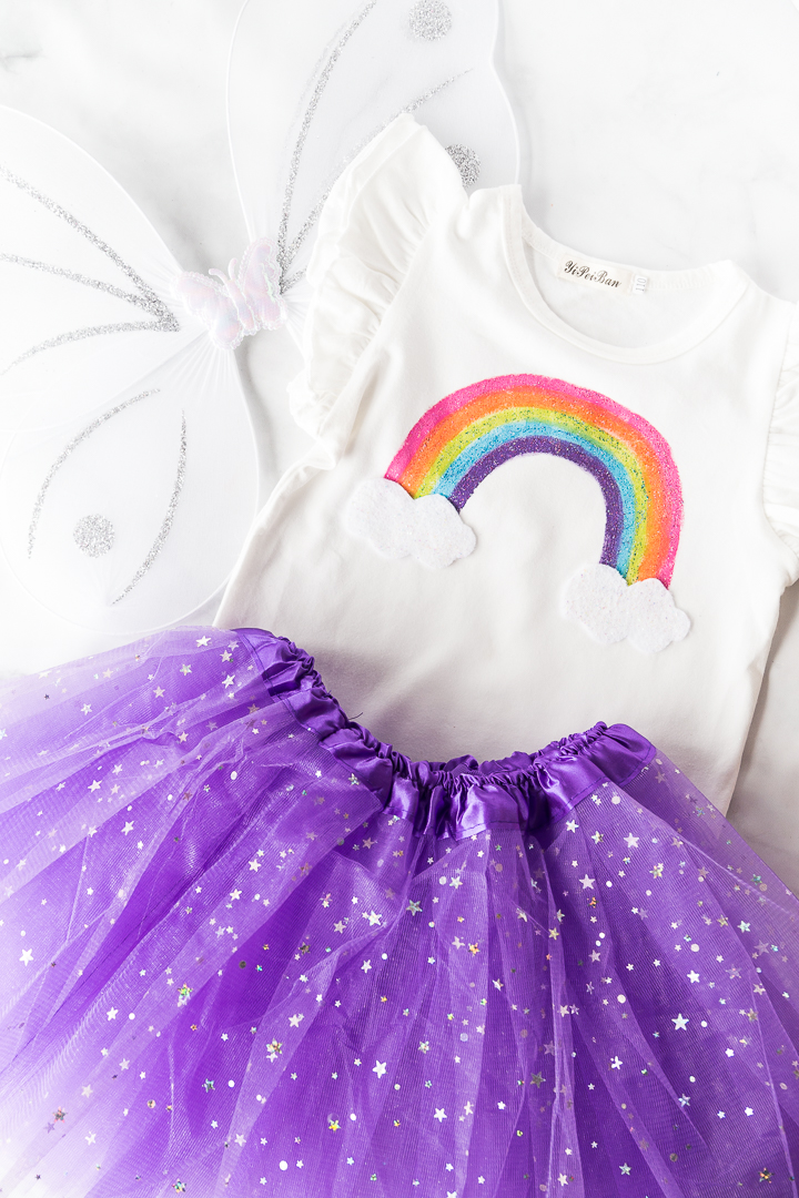 Rainbow Fairy Costume Product Shot