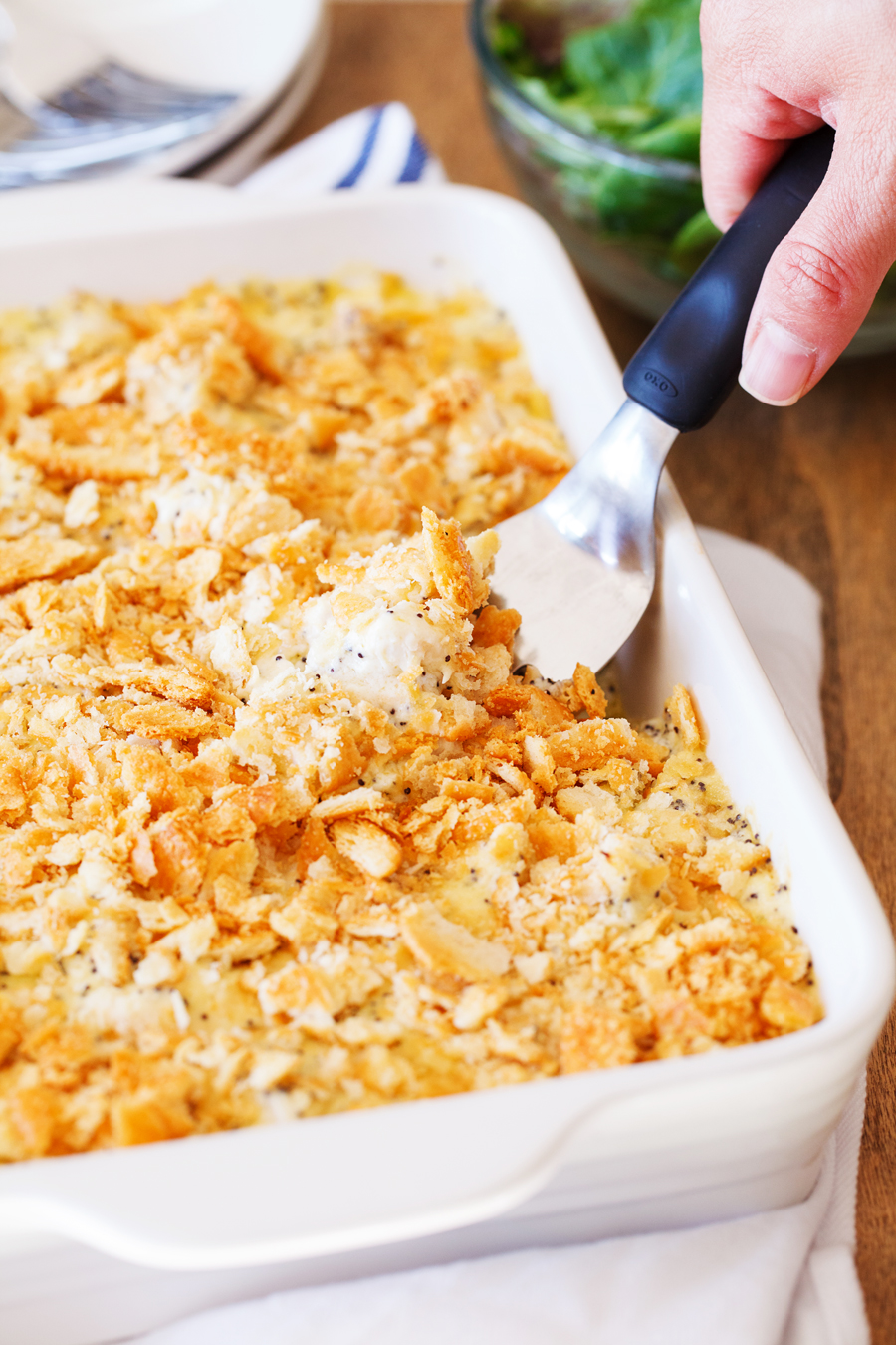 Baked Easy Poppy Seed Chicken Casserole