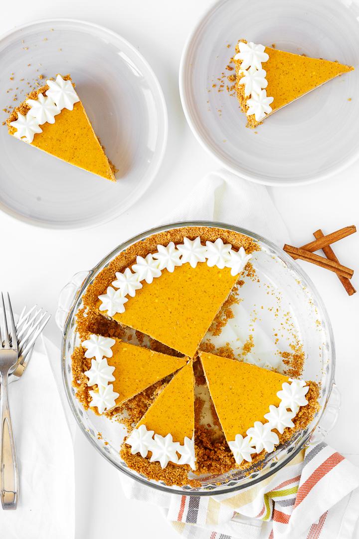 Serving Sizes of Pumpkin Cheesecake Recipe