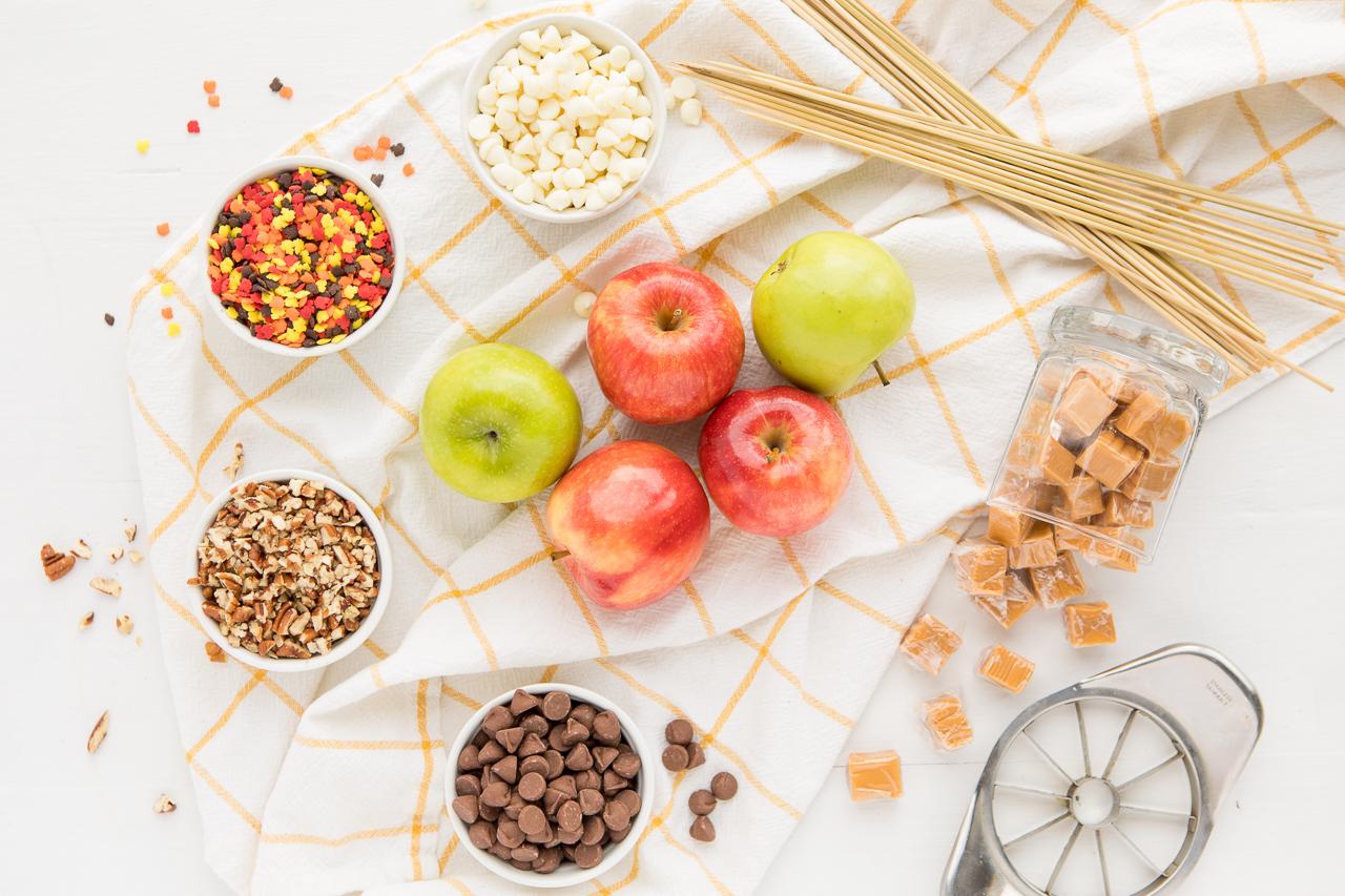 Easy Caramel Apple Slices Ingredients
