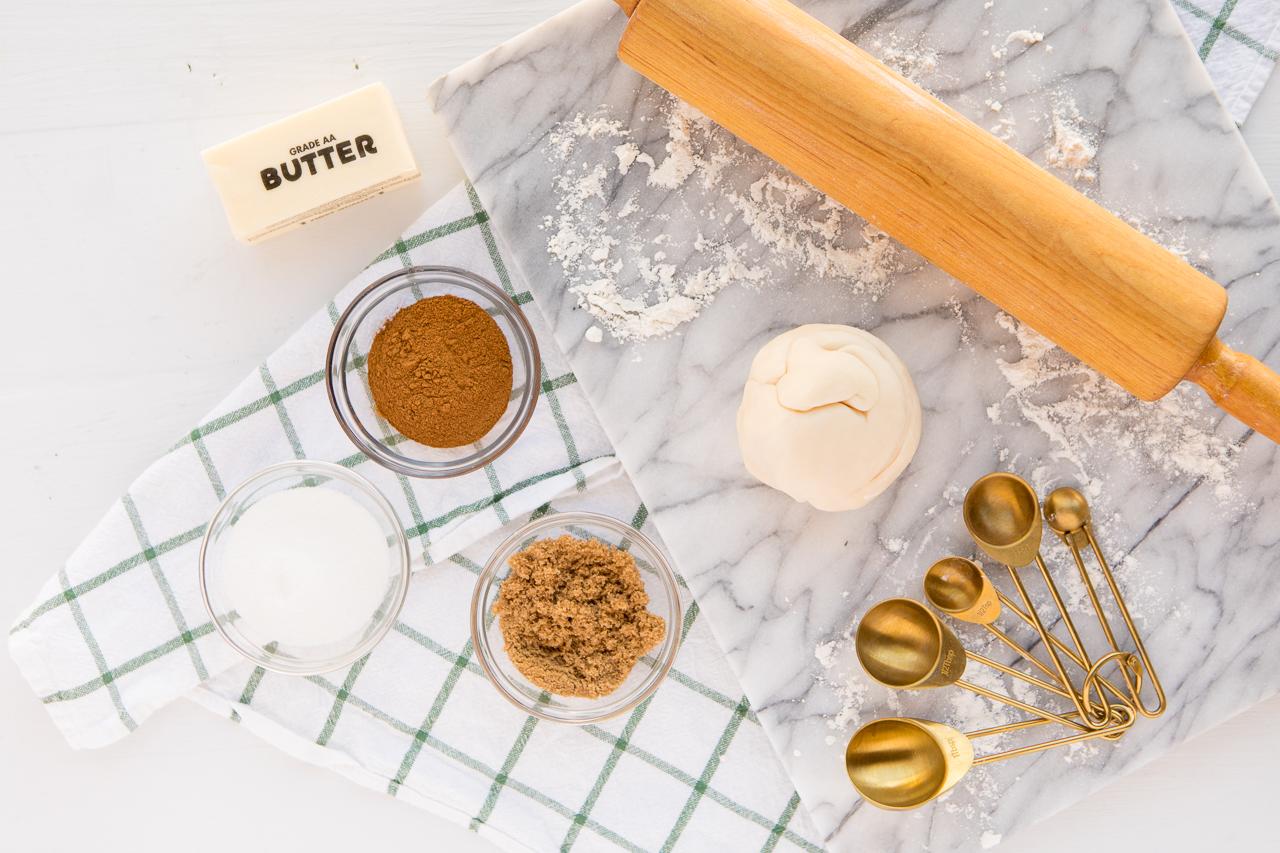 Cinnamon Roll Sugar Cookies Ingredients