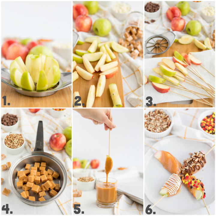 How to make Caramel Apple Slices Steps