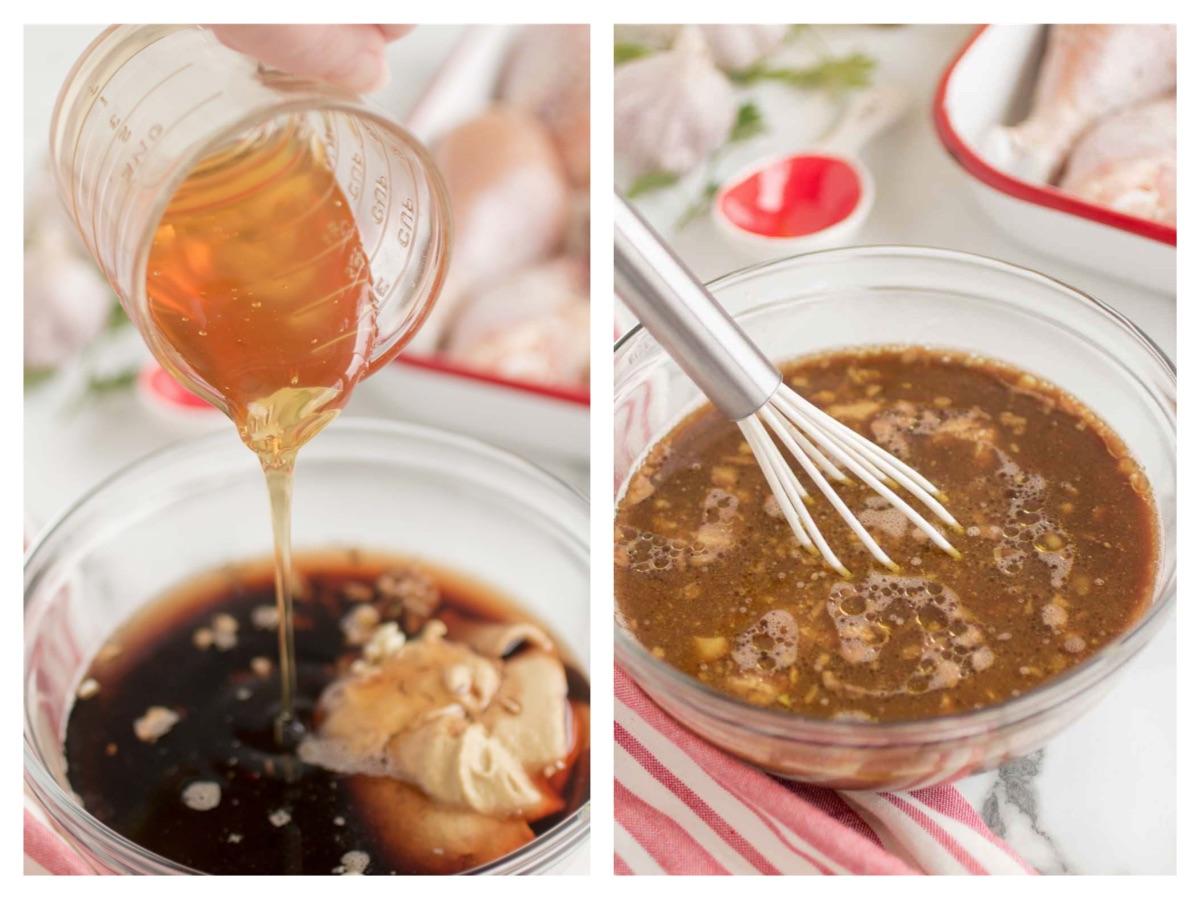 honey balsamic chicken drumstick marinade