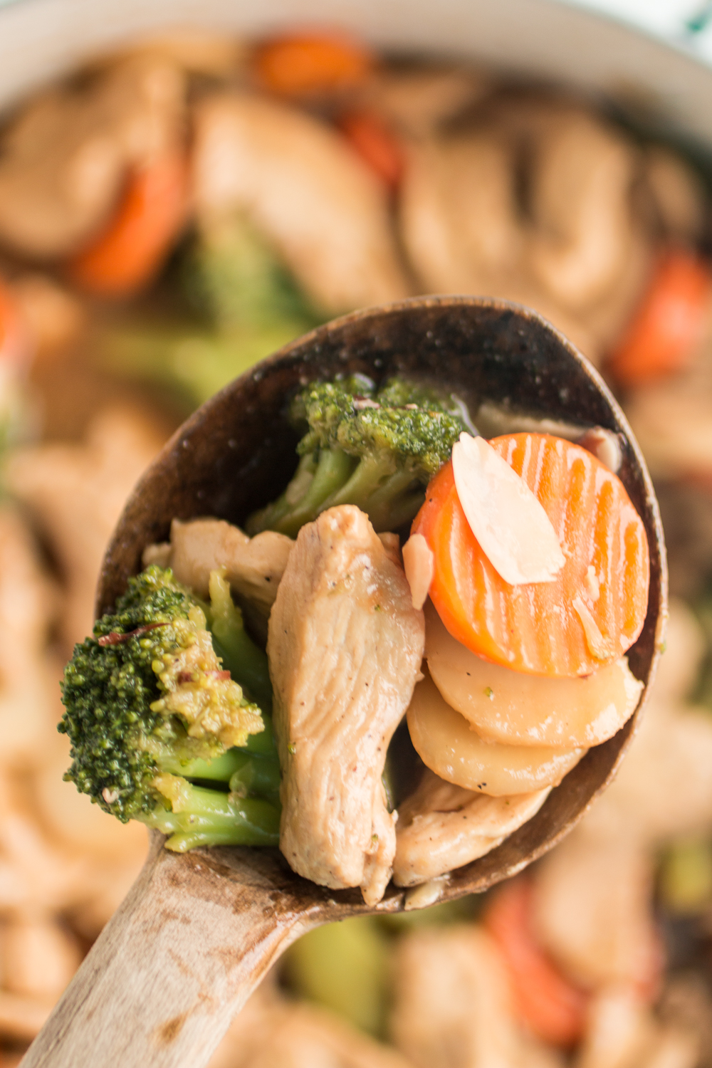 Chicken Almond Stir Fry Recipe