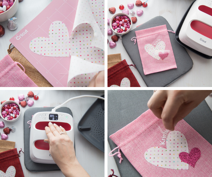 How to Make Valentine's Day Burlap Treat Bags