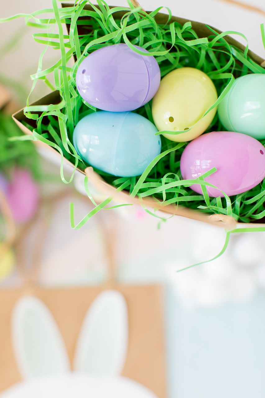 Easter eggs in Bunny Bags