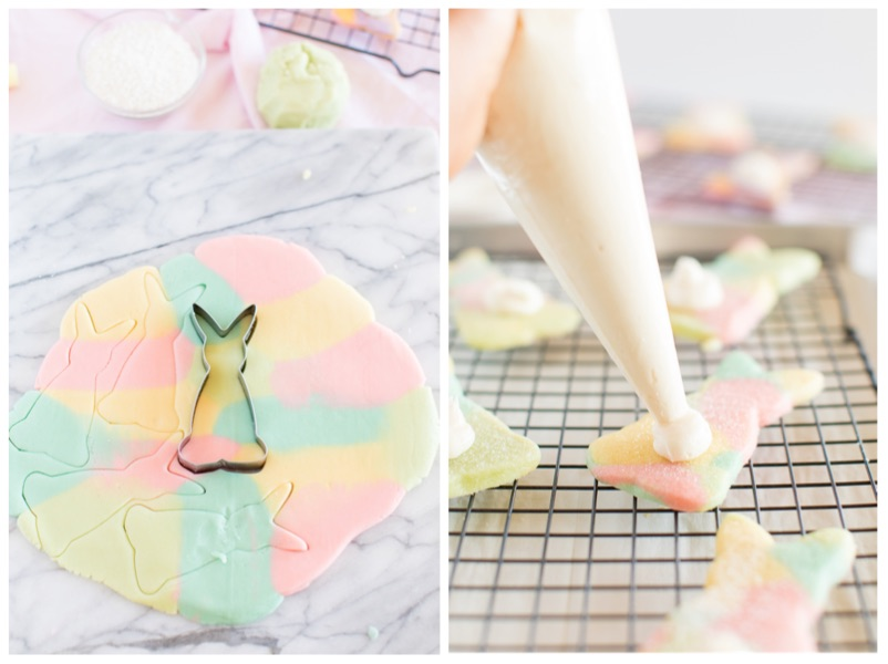 Marbled Easter Bunny Cookie Cutter