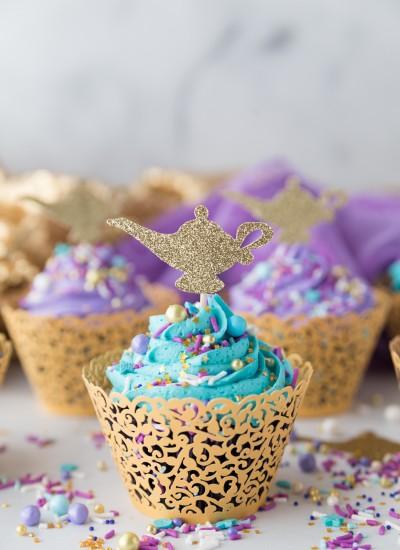 diy aladdin cupcakes