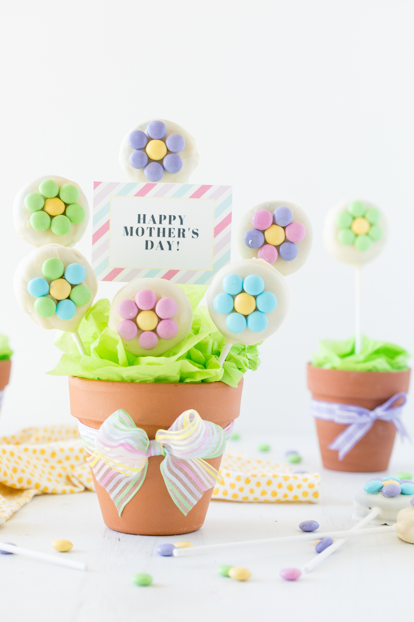 Mothers Day Cookie Bouquet Free Printable