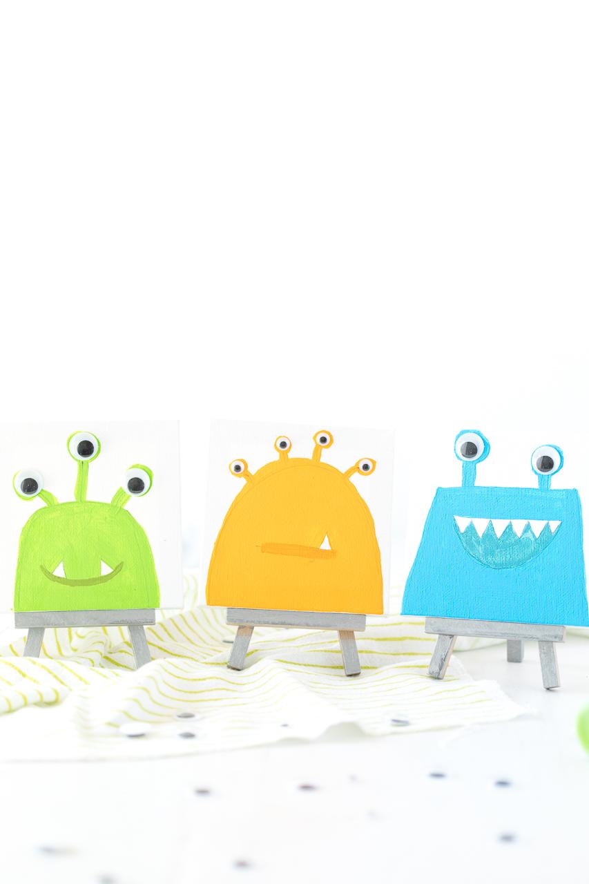 Monster Mini Canvas Tutorial