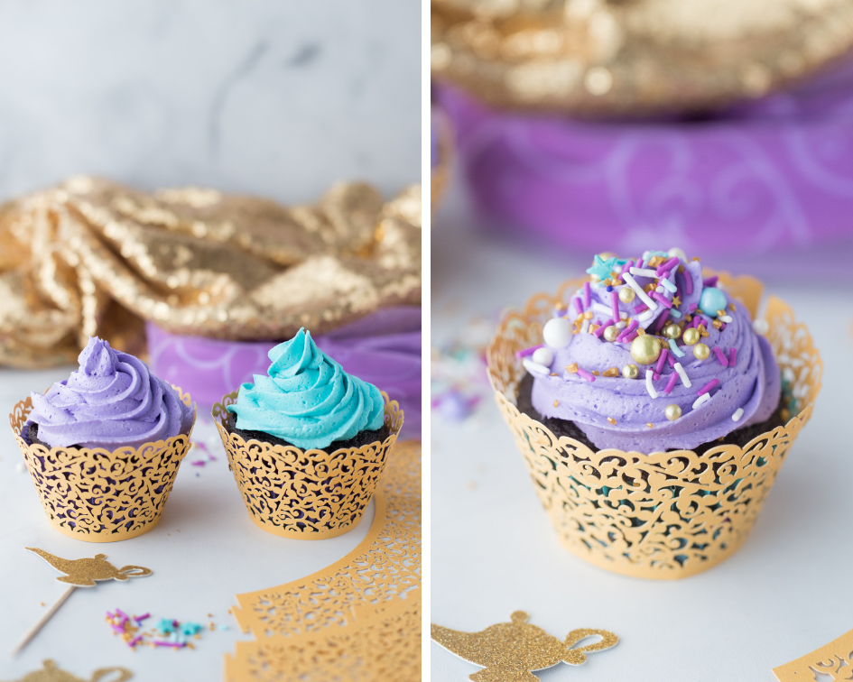 Diy Aladdin Cupcakes Made To Be A Momma