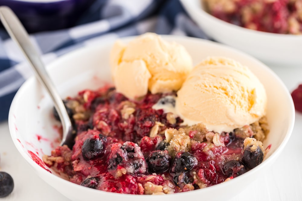 Triple Berry Crisp single Serving
