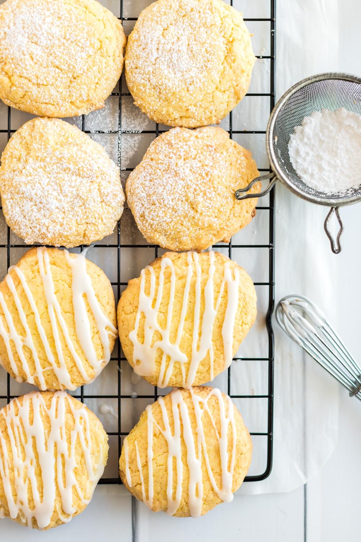 glaze on cookies
