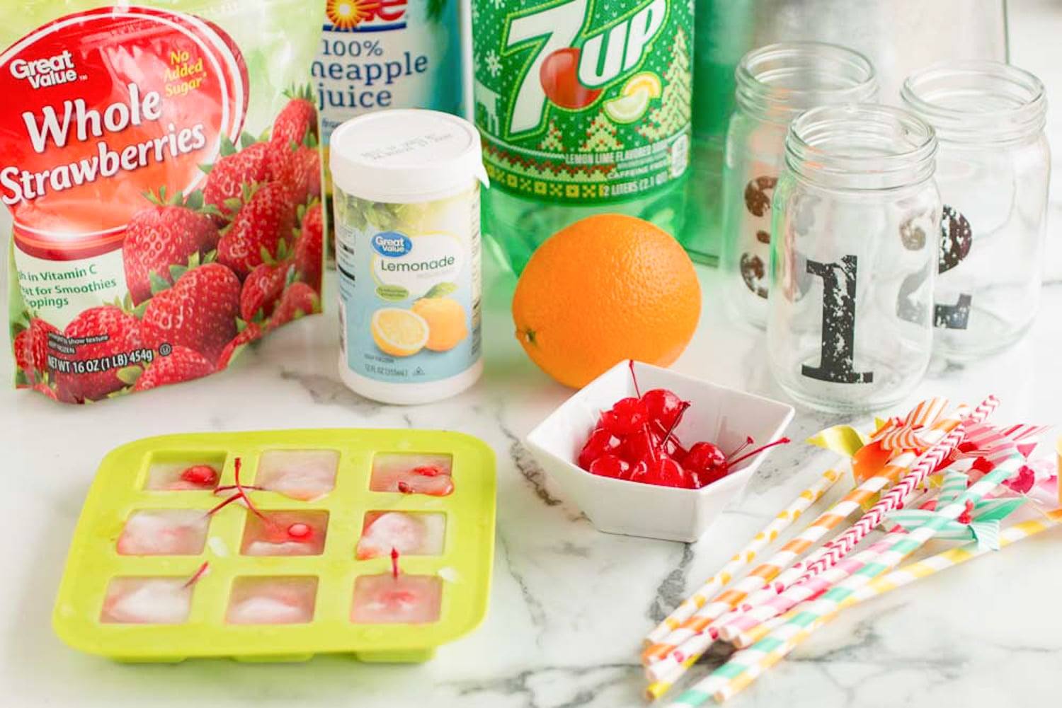 Tropical Party Punch Recipe Ingredients