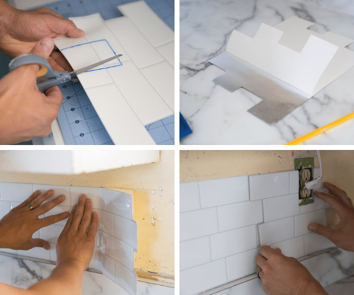 Process to Install Peel & Stick Tiles