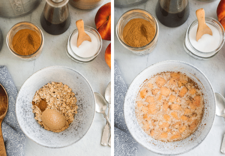 process oatmeal recipe