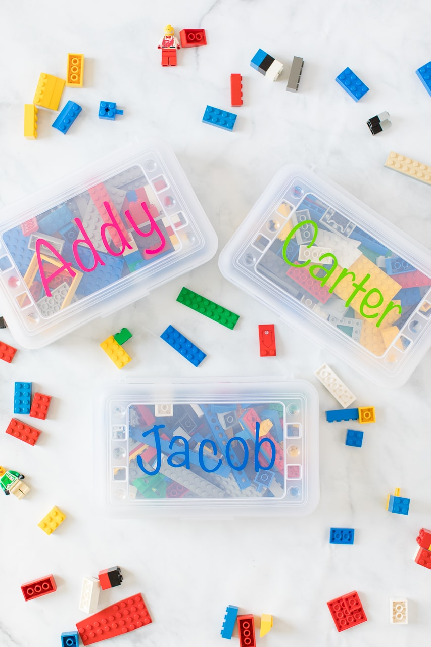 Personalized Lego Travel Case