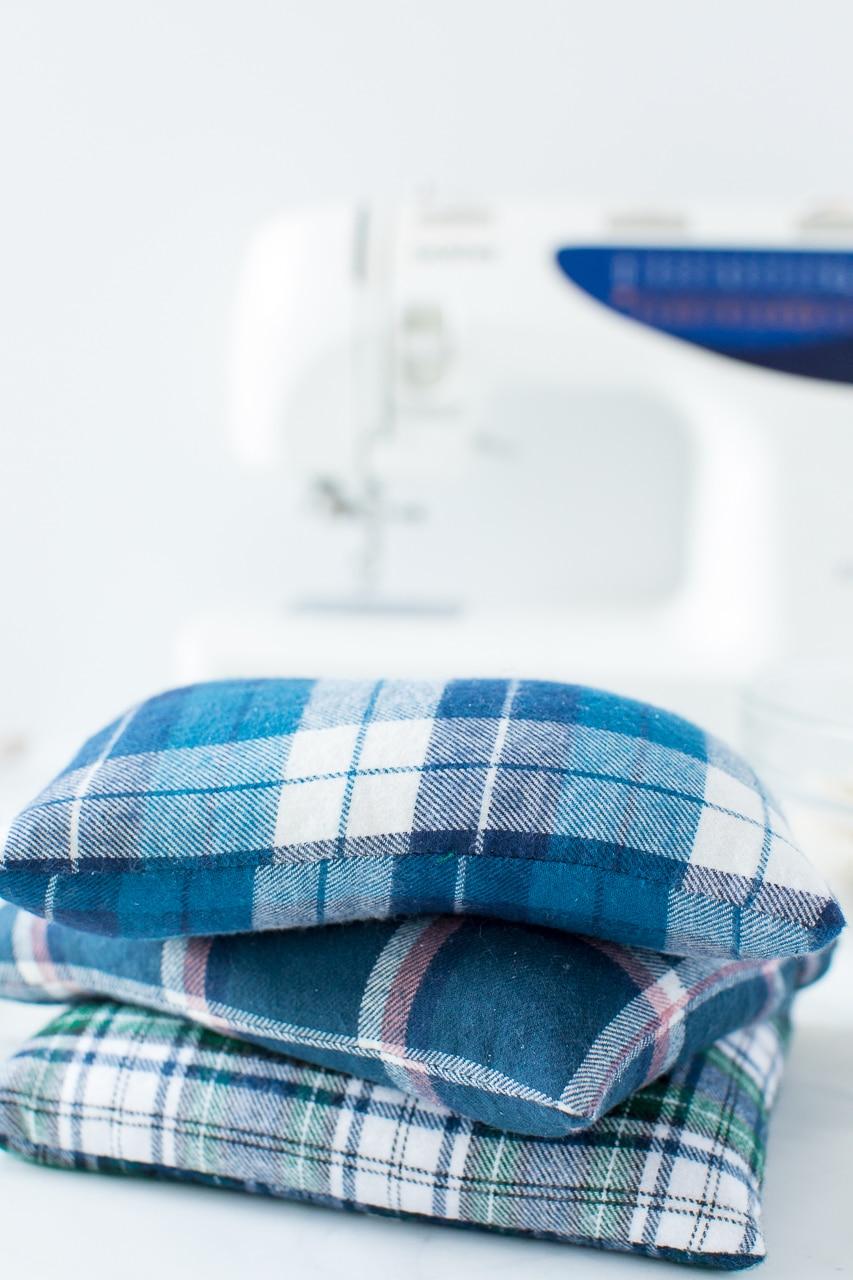 DIY Flannel Heat Packs