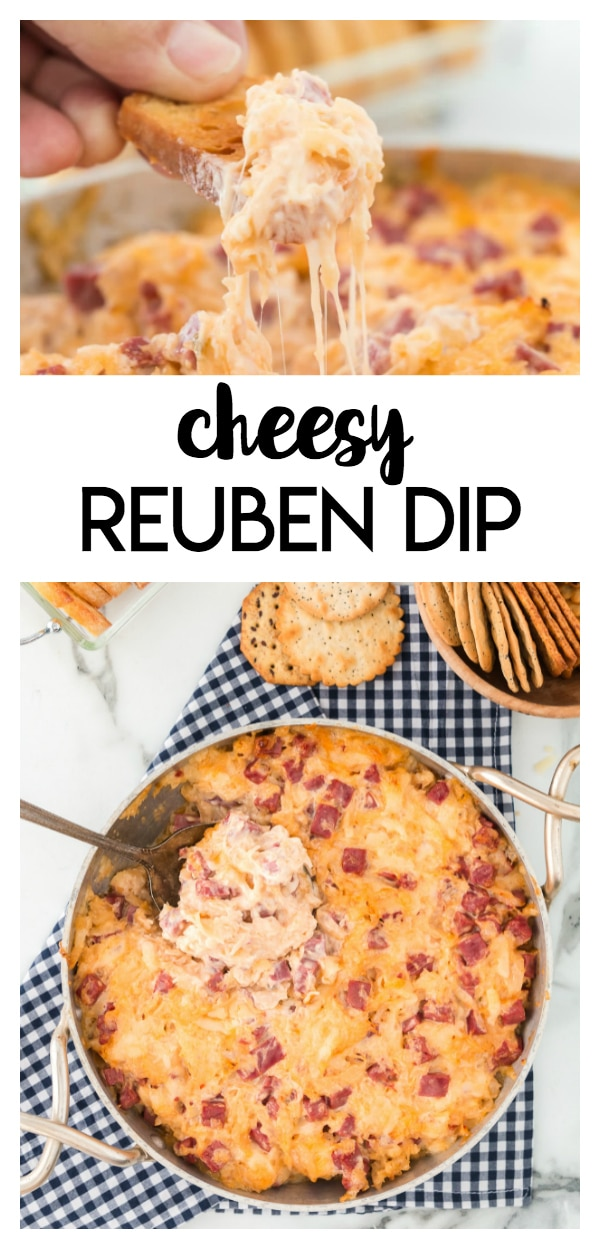 It's a great cheesy appetizer that pairs well with pita chips, crackers and your other favorite dippers.