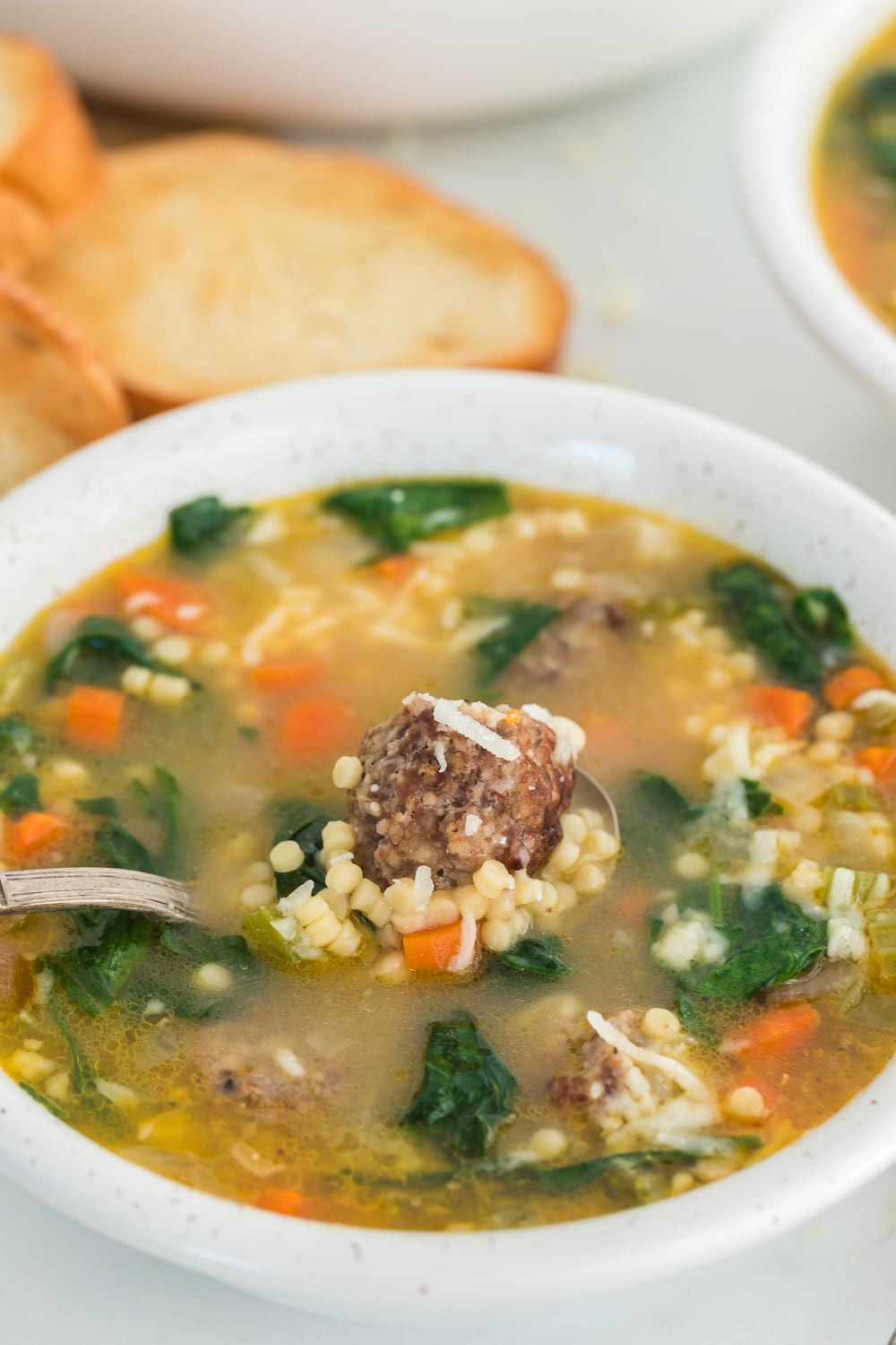 spoonful of italian wedding soup recipe