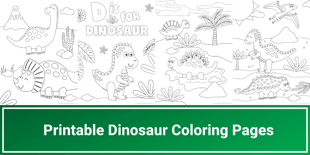 - Printable Dinosaur Coloring Pages - Made To Be A Momma