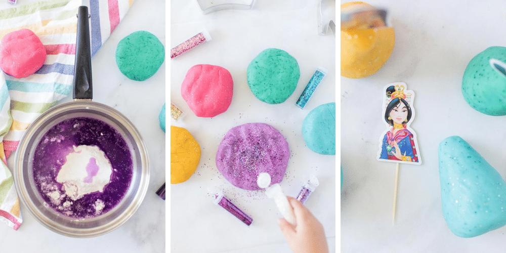 How to make Princess Playdough